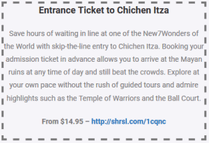 Entrance Ticket to Chichen Itza Coupon