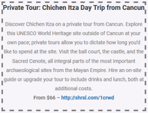 private tour at chichen itza day trip from cancun coupon