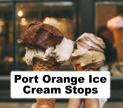 Port Orange Ice Cream Stops