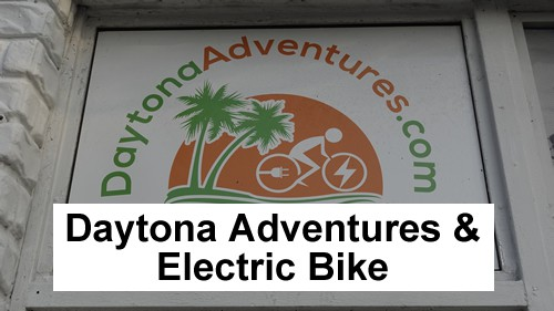 Daytona Adventures Electric Bike Rentals Daytona Beach Beachside header