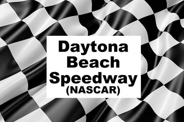 Daytona Beach Speedway NASCAR