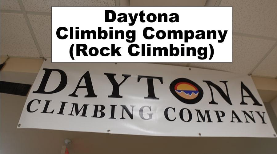 Daytona Climbing Company Rock Climbing Training South Daytona header