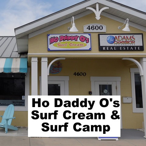 Ho Daddy Os Surf Cream Ponce Inlet ice cream