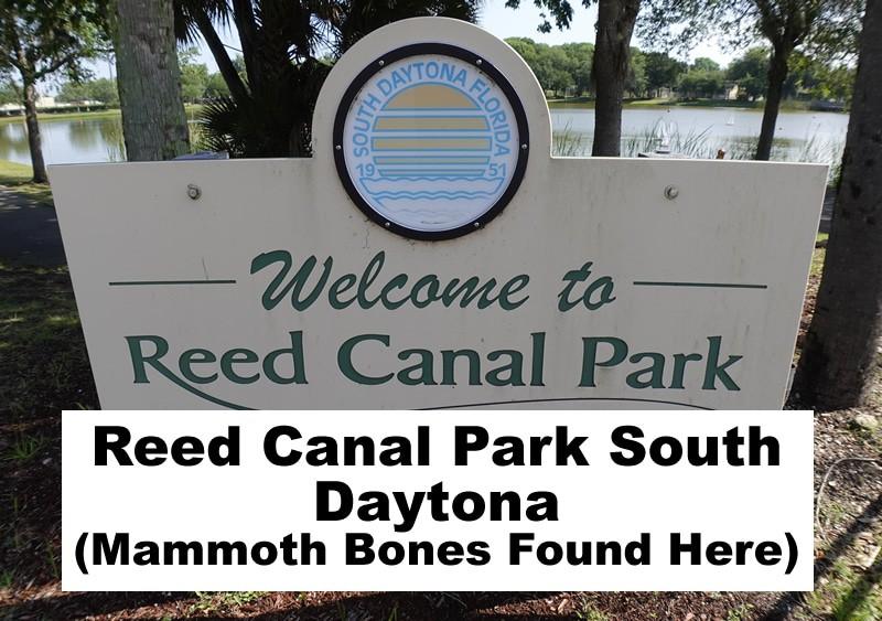 Reed Canal Park 2021 South Daytona Fl header