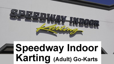 Speedway Indoor Karting (Adult GoKarts) Daytona Beach Landside header