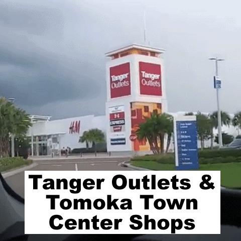 tanger outlets shopping center